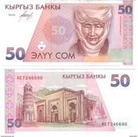 Kyrgyzstan - 50 Som 1994 UNC - Kirgizïe