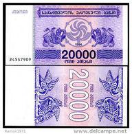 Georgia - 20000 Coupons 1994 UNC - Georgia