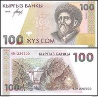 Kyrgyzstan - 100 Som 1994 UNC - Kirguistán