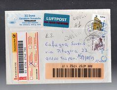 Germania R F T. :  2 Lettere Con 3 Valori Di  P.O.  Cat. Michel  2300A, 2211 E 2304D - Cartas
