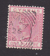 Cyprus, Scott #21a, Used, Victoria, Issued 1882 - Cyprus (...-1960)