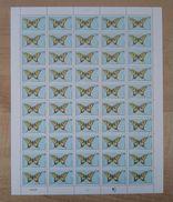 N°451 - Planche D' Andorre - Papillon - Papillons