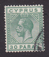 Cyprus, Scott #75, Used, George V, Issued 1921 - Cyprus (...-1960)