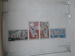 Jeux Olympiques De Tokyo 1964 - Lot De 8 Blocs MNH N** De Divers Pays D'Afrique Niger Mali Congo Cameroun Mauritanie Etc - Summer 1964: Tokyo