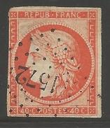 France #7 Usagé  --- Yvert #7 - 1849-1850 Cérès