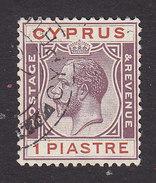 Cyprus, Scott #94, Used, George V, Issued 1924 - Cyprus (...-1960)