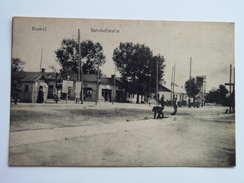 Ukraine 355 Kowel Kovel 1910 Editor 26721 Bahnhof Strasse - Ucraina