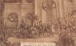 BRUXELLES - Entrée De Léopold Ier, Le 2 Juillet 1831, D'après Dessin De M. Madoy, Musée Des Estampes - Feesten En Evenementen