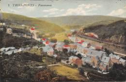 TROIS-PONTS - Panorama - Trois-Ponts