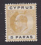Cyprus, Scott #48, Mint Hinged, Edward VII, Issued 1903 - Cyprus (...-1960)