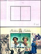 85319) AUSTRALIA 2002 D'oro Giubileo MINIFOGLIO PREGIATO USATO - Blocchi & Foglietti