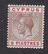 Cyprus, Scott #68, Mint Hinged, George V, Issued 1912 - Chypre (...-1960)