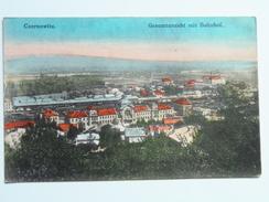 Ukraine 345 Czernowitz Mit Bahnhof 1910 Verlag Tennenbaum - Ucraina