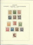 Hungary Nice Collection Up To 1944 - Stamps