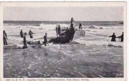 Florida Fort Pierce Amphibian Training Base Landing Craft Vehicle Personal 1945 - Stati Uniti