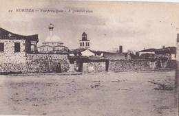 Post Card : Koritza (Albanie) , Vue Principale    Générale     Voyagée 1918 - Albania