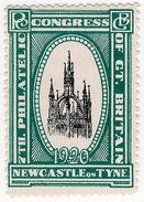 (I.B) Cinderella : 7th Philatelic Congress (Newcastle 1920) - 1902-1951 (Kings)