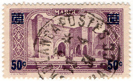 (I.B) French Morocco Postal : Pictorial 50c On 60c OP - Morocco (1956-...)