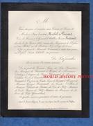 Document De 1885 - Madame Anne Ernéstine MICHEL De PUISARD Veuve De Monsieur Le Général D' Artillerie Vicomte BERTRAND - Documentos Históricos