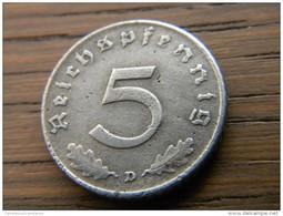 ALLEMAGNE - 5 RPFG 1942 D. - [ 4] 1933-1945 : Troisième Reich