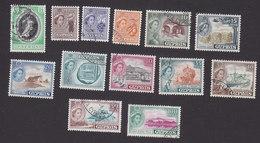 Cyprus, Scott #167-179, Used, Coronation, Scenes Of Cyprus, Issued 1953-55 - Cyprus (...-1960)