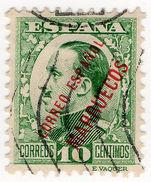 (I.B) Spain Colonial Postal : Morocco Overprint 10c - Morocco (1956-...)