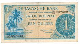 Netherlands Indies, 1 Roep/Gulden, 1948 , P-98, VF. - Indes Néerlandaises