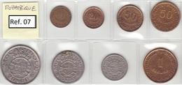Mozambique - Set Of 8 Coins (portuguese Colonies) - Ref 07 - Mozambique