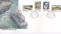 Christmas Island 1990 Transport Part I FDC - Christmas Island