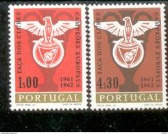 933 - 934 Benfica Lissabon MNH ** Postfrisch Neuf - 1910-... República