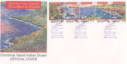 Christmas Island 1992 Christmas FDC - Christmas Island