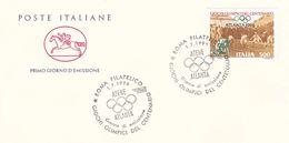 Italy 1996 Atlanta Olympics Souvenir Cover - Summer 1996: Atlanta