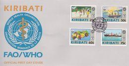 Kiribati 1997 FAO-WHO First Day Cover - Kiribati (1979-...)