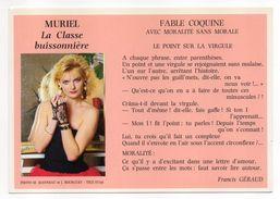 """1988--Fable  Coquine--""""Le Point Sur La Virgule""""  Extraite De L'ouvrage  Muriel: La Classe Buissonnière - Philosophie & Pensées"""