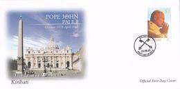 Kiribati 2005 In Memory Of Pope John Paul II, FDC - Kiribati (1979-...)