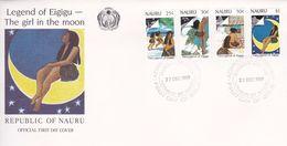 Nauru 1989 Legend Of Eigigu, FDC - Nauru