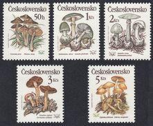 CESKOSLOVENSKO Tchécoslovaquie Cecoslovacchia  - 1989 - Serie Completa Nuova MH Yvert 2818/2822; 5 Valori. - Nuovi