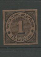 Hamburg 'Lafrenz'    Revenue Stamp Forgery - Hambourg