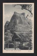 Brasil Brazil Postcard Year 1940 Rio De Janeiro - Pedra Da Gavea - Postcards