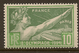 France 1924 10c Olympic Games SG 401 HM #AGB22 - France