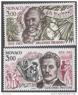 MONACO 1983 - SERIE N° 1389 Et 1390 - 2 TP NEUFS** - Unused Stamps