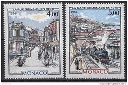 MONACO 1984 SERIE  N°1433 Et N° 1434 - 2 TP NEUFS** - Mónaco