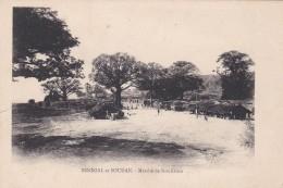 MALI (Sénégal Et Soudan) - Marché De Koulikoro - CPA - 1908 - Mali