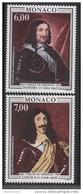 MONACO 1991 - SERIE N° 1787 A 1788 - 2 TP NEUFS** - Monaco