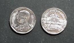 Thailand Coin Circulation 5 Baht Year 2008 UNC - OLD KING Portrait - Thailand