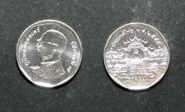 Thailand Coin Circulation 5 Baht Year 2012 UNC - Thailand