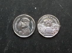 Thailand Coin Circulation 5 Baht Year 2014 UNC - Thaïlande