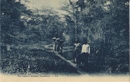 Une Route à ABOMEY - Ed. L  L - Dahomey