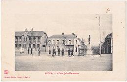 62. BRUAY. La Place Jules-Marmottan - France