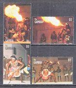 GAMBIA  1725-8   **   FLAME  DANCE - Dance